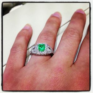 Synthetic Engagement Rings Uk