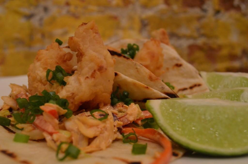 Fried Shrimp Tacos Food Network