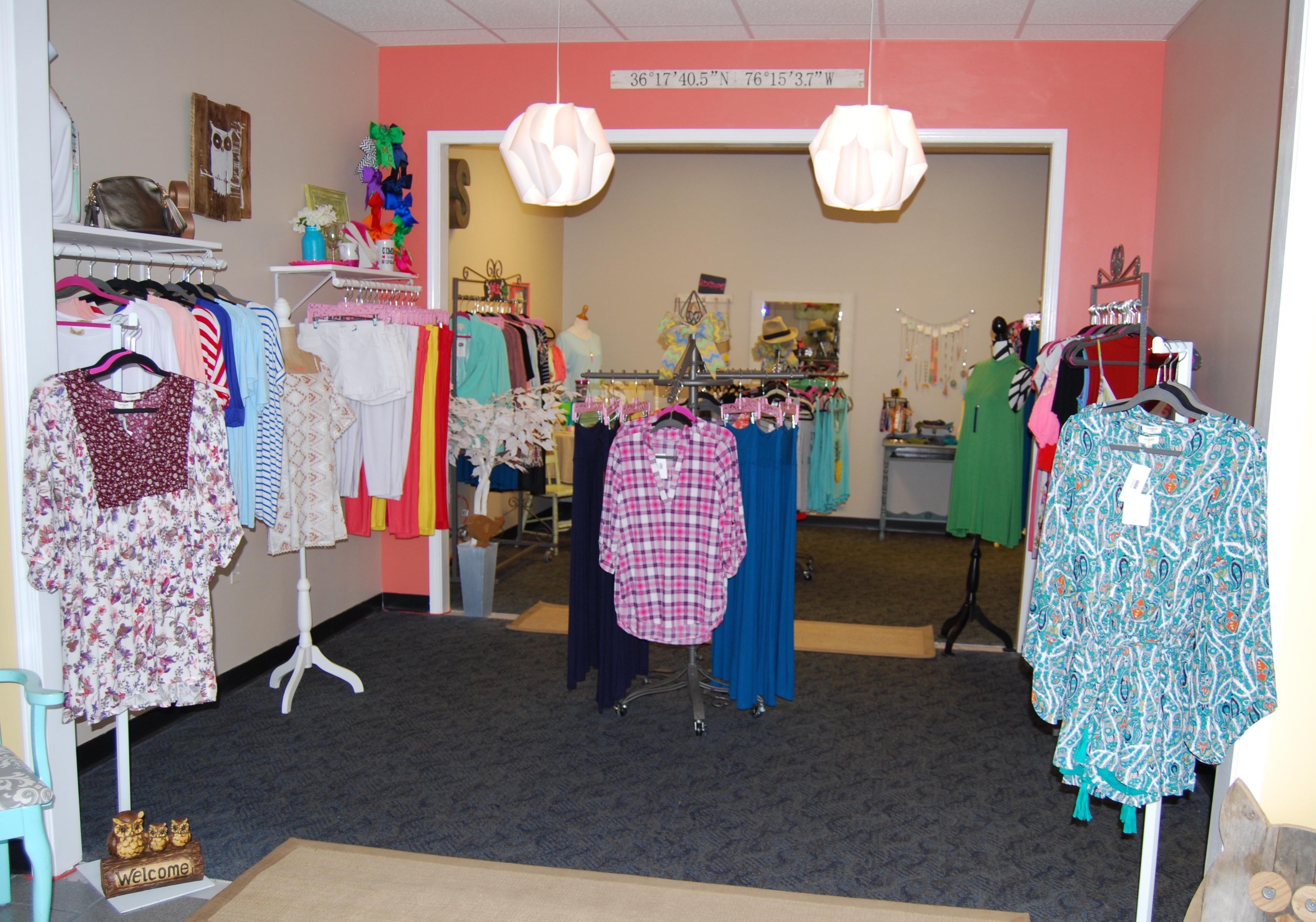 Sassy clothing store